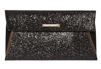 Dorothy Perkins Black Tuck Bar Clutch €24,00