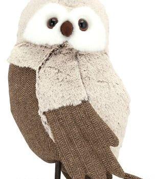 Large Faux Fur Owl €26.00