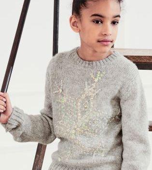 Grey Snowflake Sweater Next €23.50-30