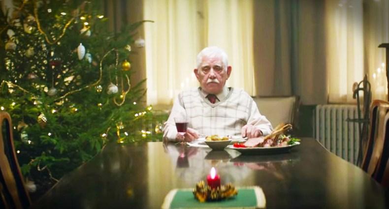 Elderly Man Alone