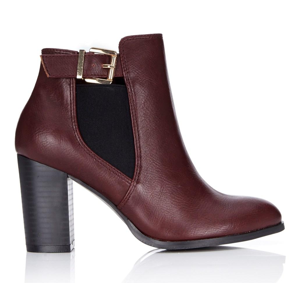 Wallis Berry Block Heel Ankle Boot €55