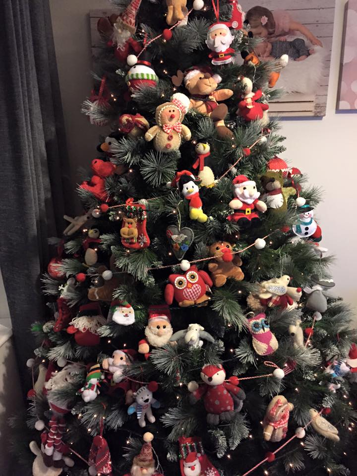 Louise Flanagan's Christmas Tree. Pic: Letterkenny Babies on Facebook