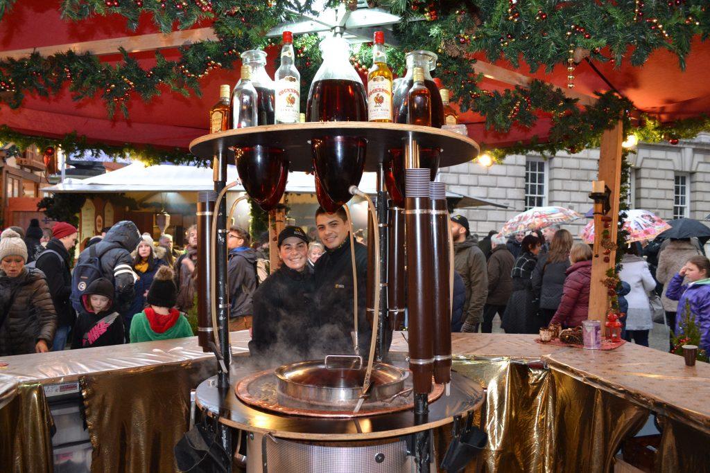 Mozel Gluhwein Belfast Christmas Markets