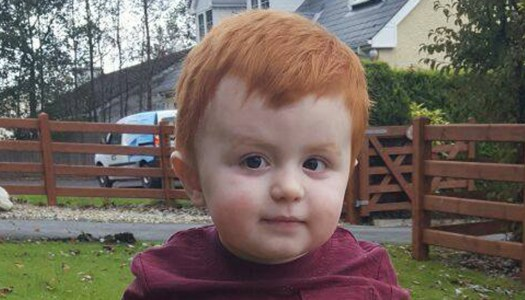 Wee boy Caolan continues his big fight