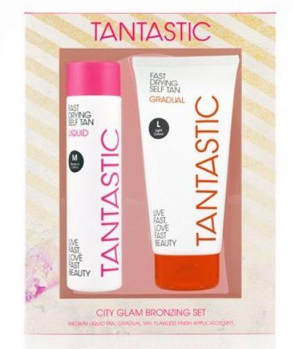 Tantastic City Glam Bronzing Set €18