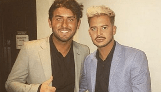 Hughie Maughan and his fiancée suffer brutal homophobic attack