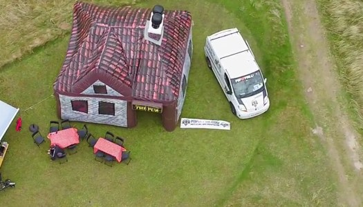 Donegal woman's drone video is going to 'Pop Up' in the States!