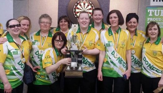 Donegal women's team win All-Ireland Darts title in Clare