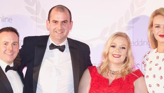 Three top spots for Donegal at weddingsonline awards