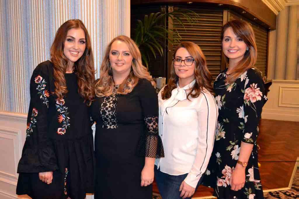 Tara O'Farrell, Carina Monteith, Jennifer Rock and Rachel McLaughlin