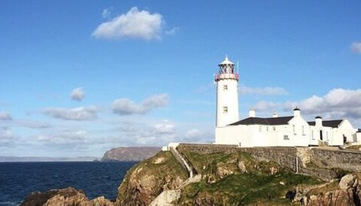 The beauty of Fanad Head along the Wild Atlantic Way
