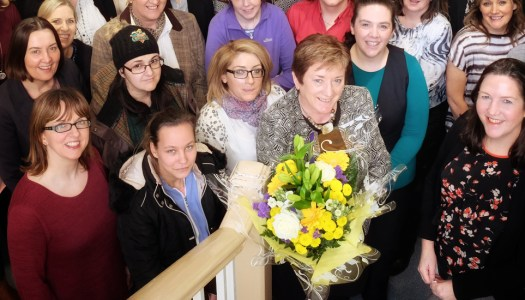 Finola Furey marks a milestone with the women of Donegal ETB