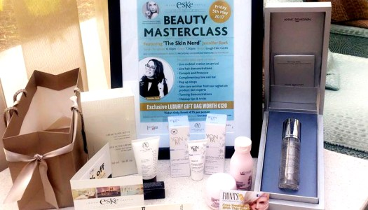 You won't believe how much is in the goody bag of this Beauty Masterclass