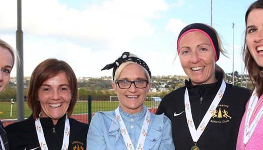 Letterkenny AC senior women swap bronze medals for silver!