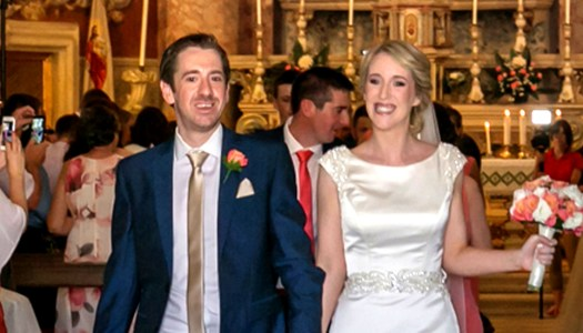 Why our wedding was a special celebration of life