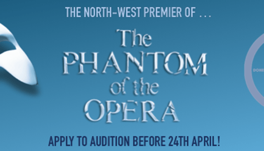 Young stars sought for the northwest premiere of The Phantom of the Opera