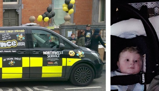 New BUMBLEance comes to the rescue for first Donegal baby