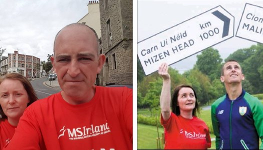 No thumbing lifts for this couple on final hurdle of 1,000km walk