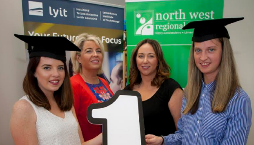 Academic achievement celebrated as graduands complete first degree course at NWRC