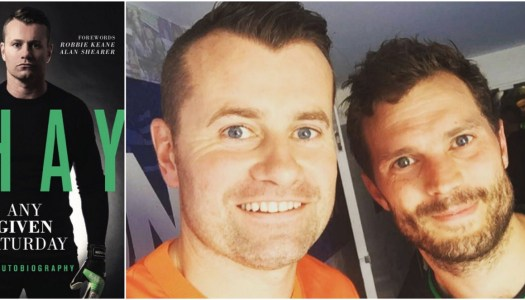 50 Shades of Shay: Jamie Dornan helps Shay Given come up with autobiography title