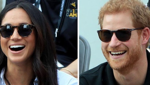 Prince Harry and Meghan Markle share happy engagement news