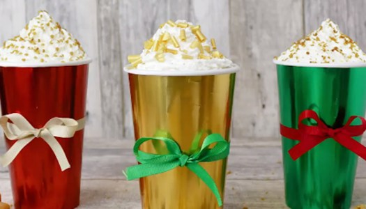Starbucks unwrap clever colour-in Christmas cups