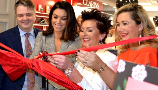 Events: Star blogger Suzanne Jackson opens McElhinneys' new Beauty Hall