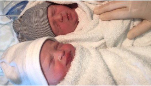 GAA star Eamon McGee celebrates arrival of adorable twins
