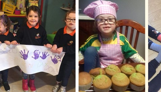 How Kayla (5) inspired friends to celebrate World Down Syndrome Day