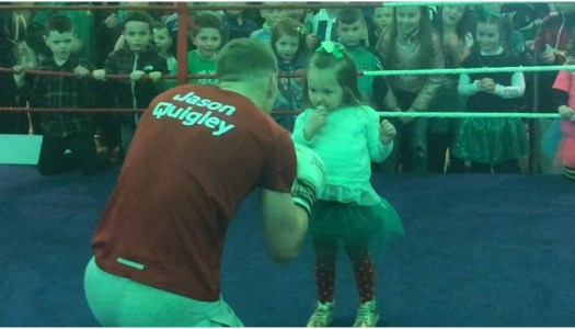 Watch: Adorable Jason Quigley fan meets the man himself!