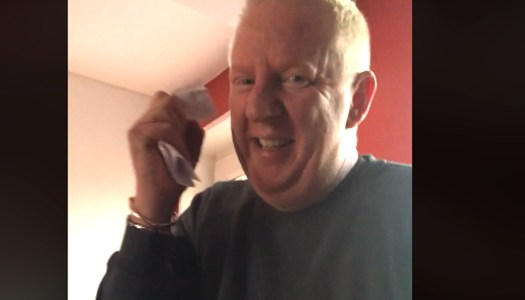 WATCH: Irish dad's hilariously corny trick goes viral