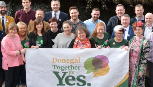 Get Together for Yes roadshow comes to Letterkenny