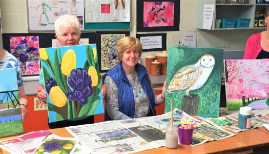 Brushing up on art skills through a heart warming school initiative
