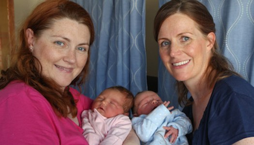 Meet the Donegal sisters who gave birth on the same day!
