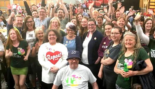 Donegal Yes campaigners share heartfelt thanks after 'victory for women's rights and health'
