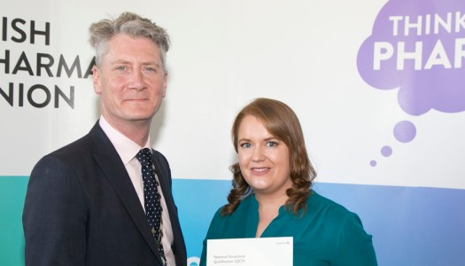 Donegal woman graduates with professional Pharmacy Services Diploma