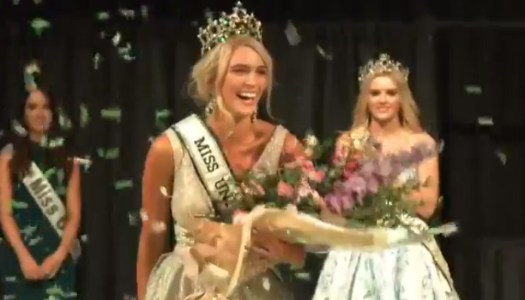 Miss Donegal Grainne Gallanagh is crowned Miss Universe Ireland!