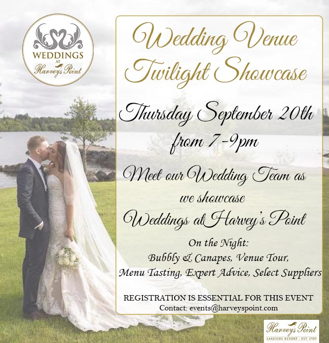 Where To Register For Wedding.Harvey S Point Are Hosting A Magical Twilight Wedding