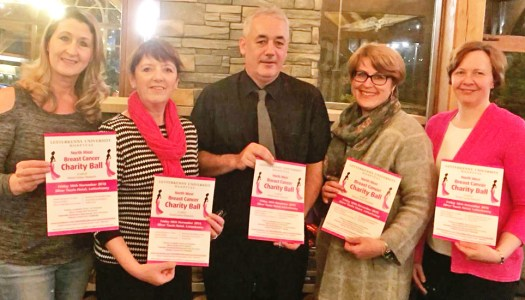 Sparkling NW Breast Cancer Ball launched for 2018