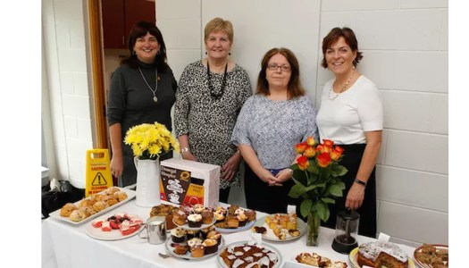 Marie and Méabh's coffee morning better late than never!