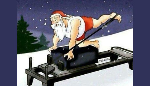 Love pilates? Why not try a Christmassy class for charity