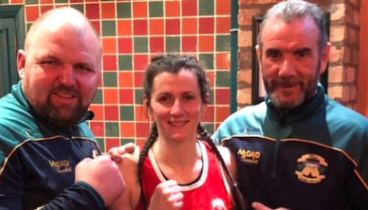 Beaten but unbowed: Donna Barr edged in Ulster Elite final