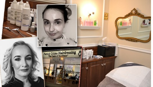 Review: Pro facial and pampering in Allure @ Patrick Gildea