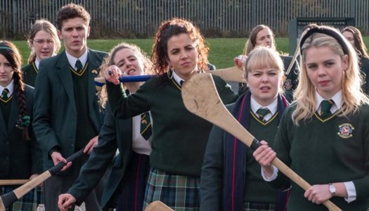The Derry Girls have their own playlists we're buzzing off them already