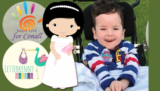 Spark joy and support the 'High 5 for Conall' communion wear event