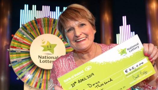 Family joy as Donegal granny spins the wheel on Winning Streak