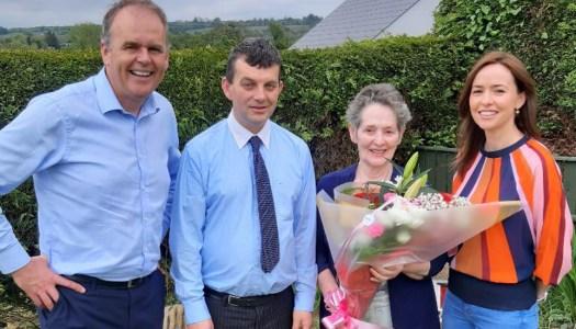 Katie Callaghan honoured as one of Donegal's great community volunteers