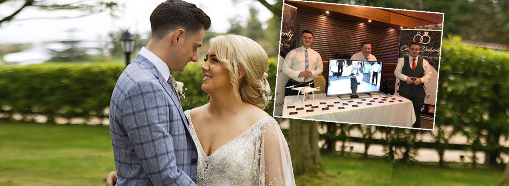 Cathal Doherty and team crowned Wedding Videographer of the Year