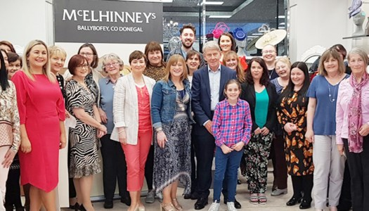 Events: Donegal women learn to look the business with McElhinneys
