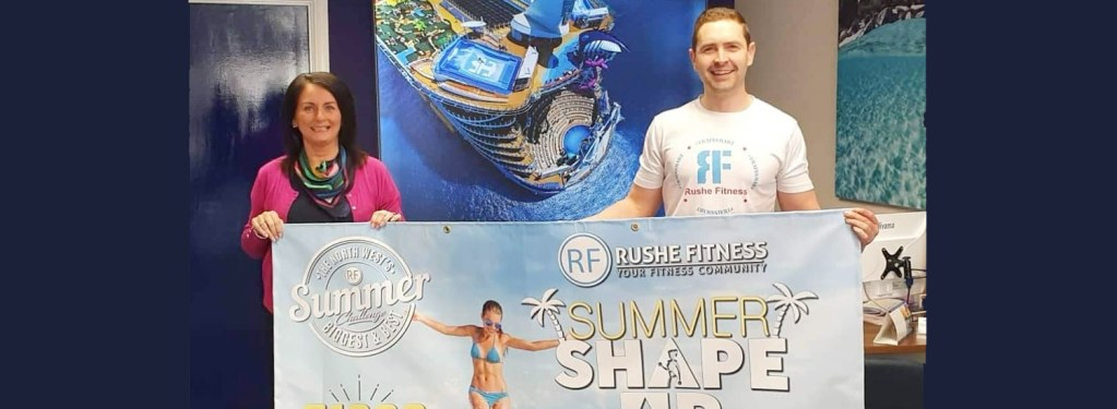 Rushe Fitness launches biggest summer challenge yet!